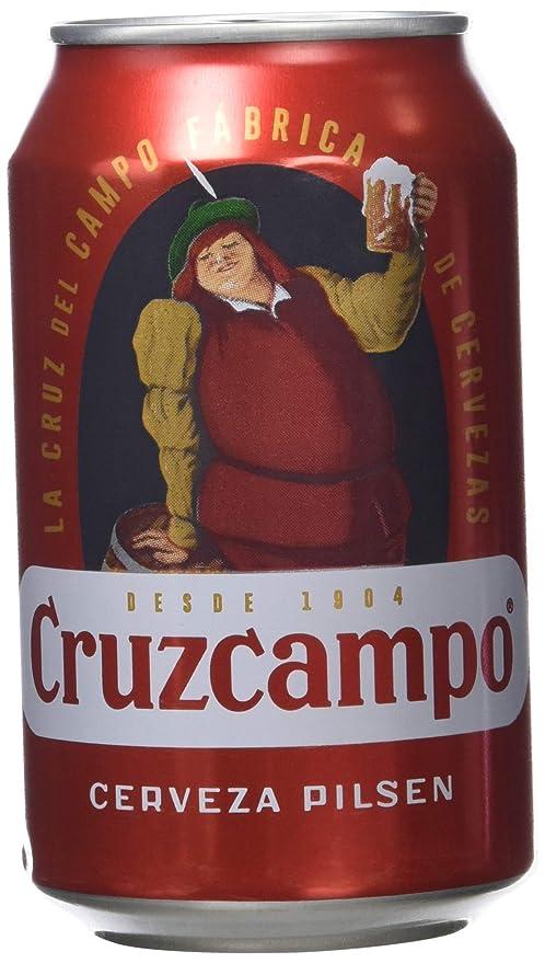 Cruzcampo Cerveza - Paquete de 8 x 330 ml - Total 2640 ...