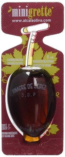 Minioliva Vinagre de Jerez D.O - Paquete de 150 x 8 ml - Total: 1200