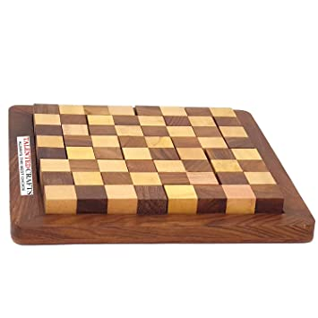 Wooden Chess Style Puzzle Game