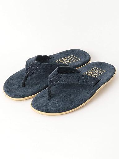 Suede Sandals 1431-499-7092: Navy