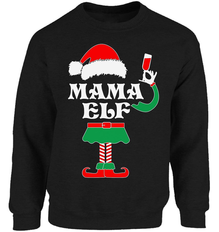Vizor mama elf sweatshirt christmas mama elf costume jpg 1417x1500 Mama elf 15d54e07a