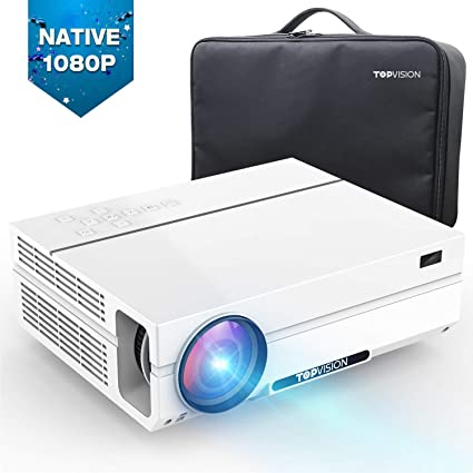 Amazon.com: TOPVISION Native 1080P Proyector de vídeo con ...