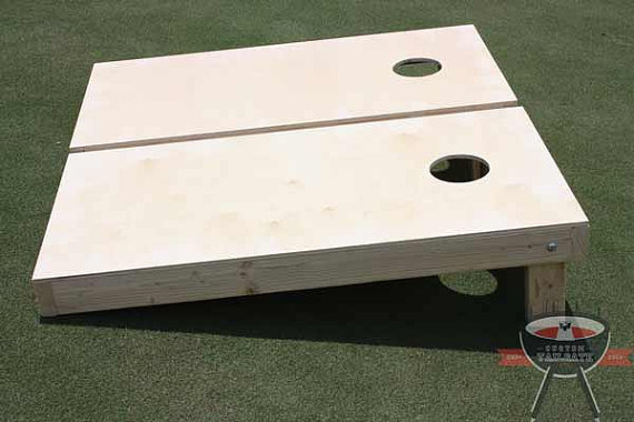 Non Painted / Unfinished Cornhole Boards by AllAmericanTail​gate