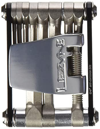 LEZYNE RAP-20 Hex Torx Chain Breaker Bike Bicycle Multi-Tool BLACK-RED-PURPLE
