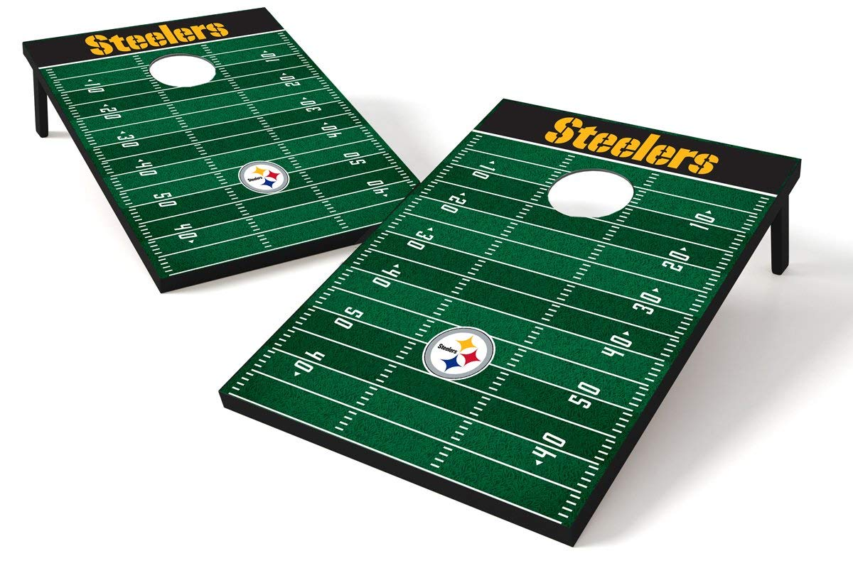 NFL Pittsburgh Steelers Tailgate Toss Game (Renewed) by Wild Sports