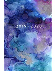 2019 - 2020: Weekly Planner Starting July 2019 - Dec 2020 | 6 x 9 Dated Agenda | Appointment Calendar | 18 Month Organizer Book | Soft-Cover Watercolor