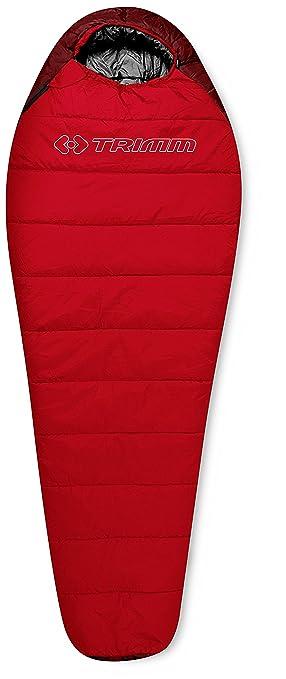 TRIMM Saco de Dormir Infantil Walker Junior Rojo Red/Dark Red Talla:170 x 70 x 50 cm: Amazon.es: Deportes y aire libre