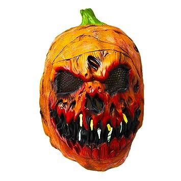The Twiddlers Máscara de Calabaza de Latex Fiestas de Disfraces de Halloween - Eventos - Carnavales