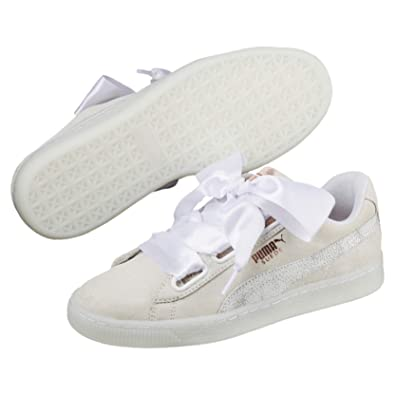 quality design 647b5 be78d Puma Suede Heart Artica Wn s, Sneakers Basses Femme, Blanc White 01, ...