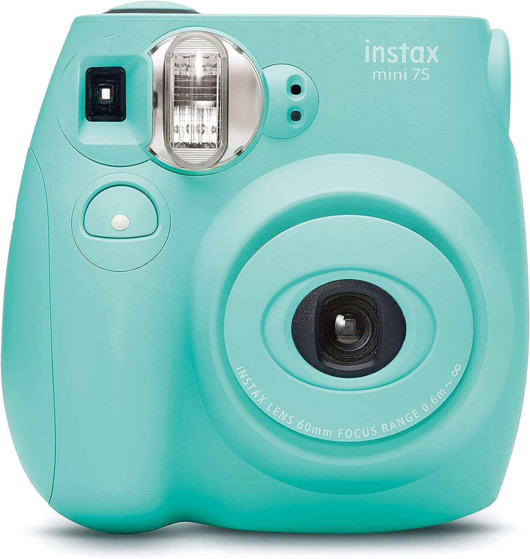 Fujifilm Instax Mini 7S Seafoam Green Instant Film Camera (Renewed)