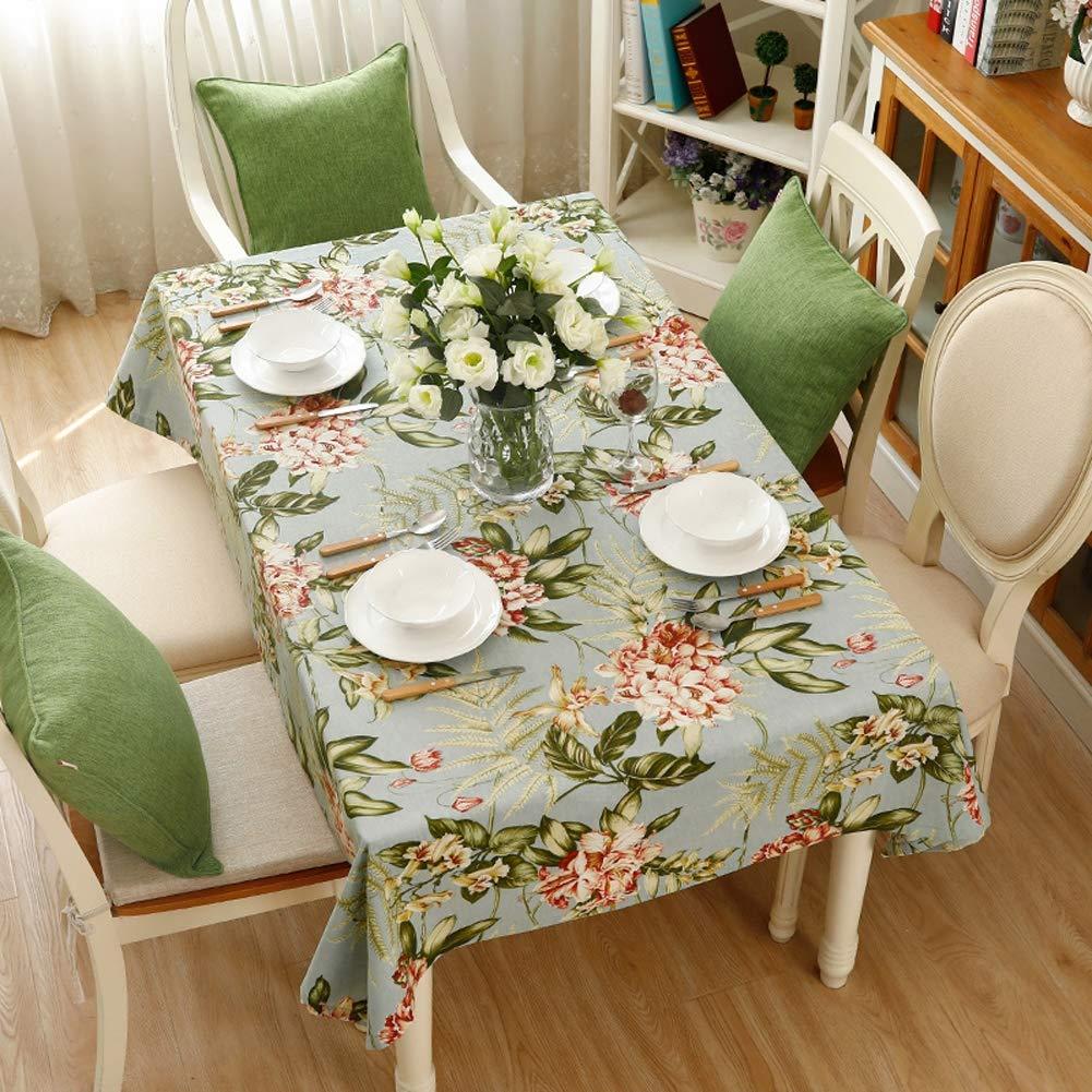 テーブルクロス印刷インウィンドガーデンホームダイニングテーブルクロスコーヒーテーブルクロステーブルクロス現代のテーブルクロス,140*210cm   B07RRWLXT1