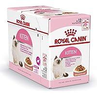 Royal Canin Gravy Kitten Instinctive Wet Food Pouches- 12 x 85 gm