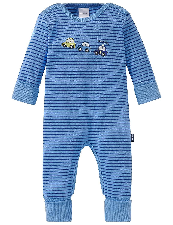 Schiesser Baby-Jungen Polizei Anzug mit Vario Zweiteiliger Schlafanzug