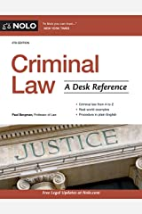 Criminal Law: A Desk Reference Kindle Edition