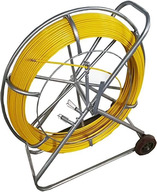 4.5mm 70M Fish Tape Continous Fiberglass Duct Rodder Electrical Fish Tape Pulling Fishtape Cable Puller