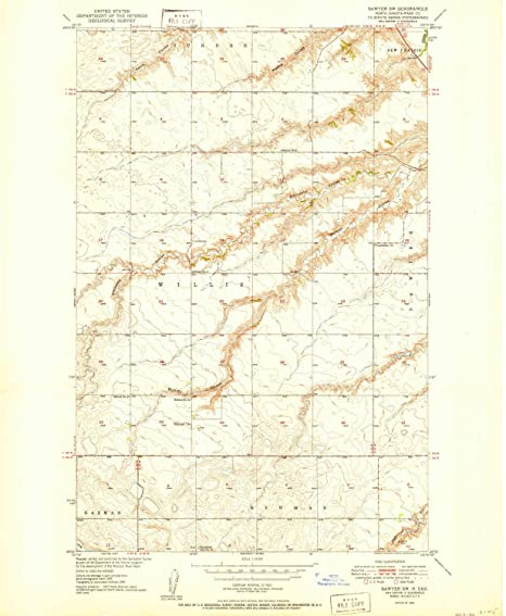 Amazon.com : YellowMaps Sawyer SW ND topo map, 1:24000 Scale ... on map of bowbells north dakota, map of minot north dakota, map of wahpeton north dakota, map of richardton north dakota, map of bottineau north dakota, map of tioga north dakota, map of hazen north dakota, map of mandaree north dakota, map of underwood north dakota, map of lehr north dakota,