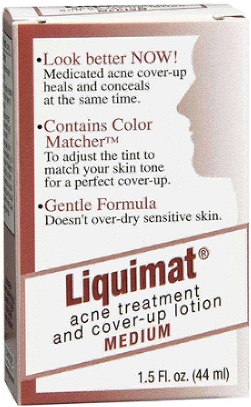 2 Pack Liquimat Acne Treatment & Cover-Up Lotion Medium - 1.5 Oz Each Helena Rubinstein - Prodigy Sacred Oil - 30ml/1.01oz