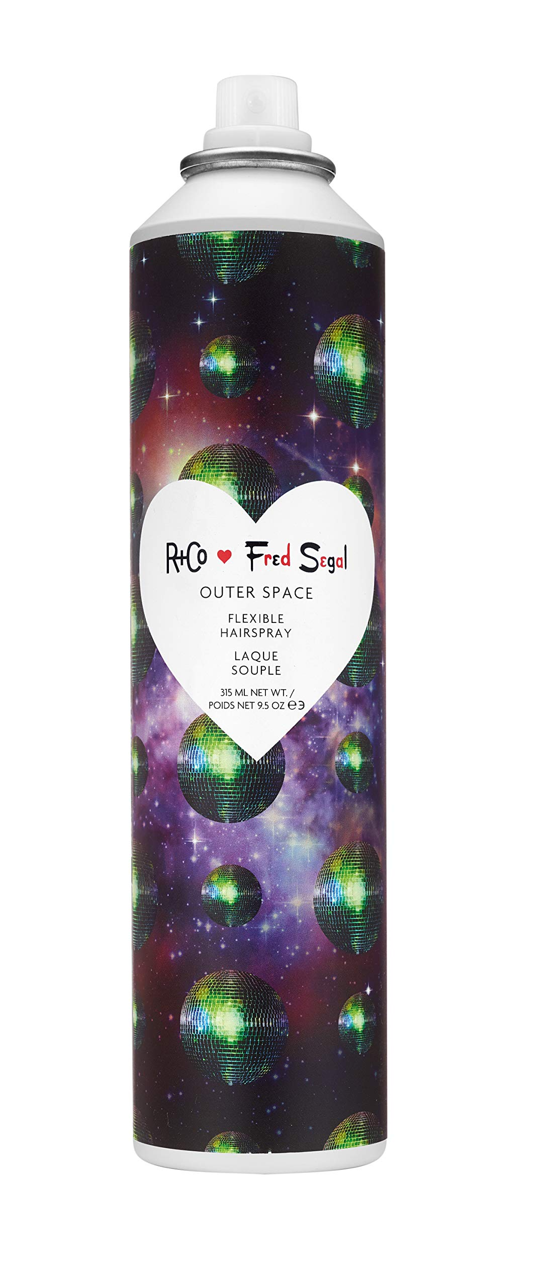 R+Co Outer Space Fred Segal Flexible Hairspray, 9.5 Oz. by R+Co