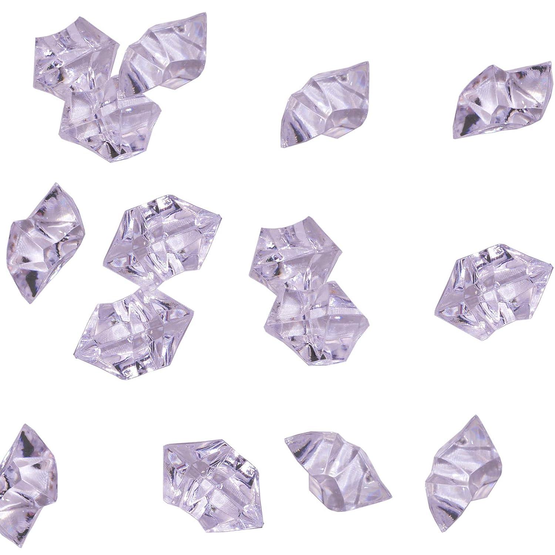 KAKOO 120Pcs / 2.5CM Il Ghiaccio Acrilico Libero Scava le Rocce di Cristallo Per la Decorazione di Cerimonia Nuziale Della Tabella Del Riempitore Del Vaso