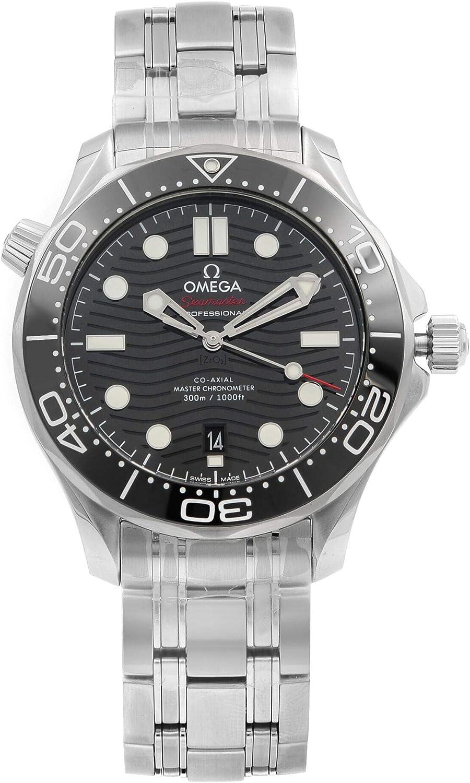 Omega Seamaster 210.30.42.20.01.001 Reloj de buceo con esfera negra