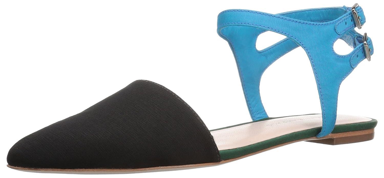 Loeffler Randall Women's Tess Pointed Toe Flat B01N5HFCMK 5.5 B(M) US Black Multi