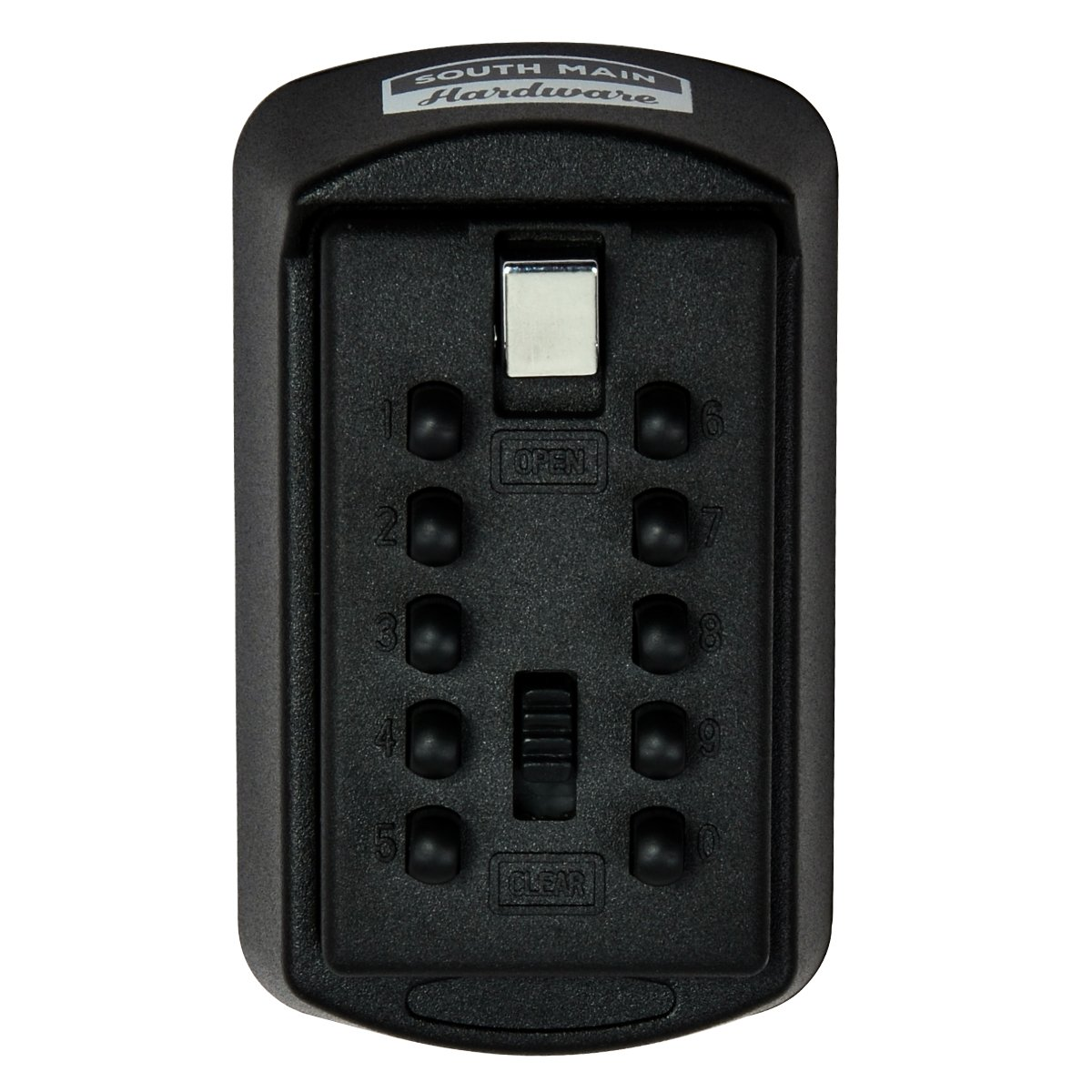 South Main Hardware 810144 Combination Key Storage LOCK Box, Black