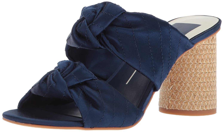 Dolce Vita Women's Jene Slide Sandal B078BQVGNZ 7 B(M) US|Midnight Satin