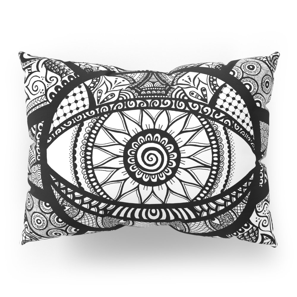 Society6 Hypnotica Pillow Sham Standard (20'' x 26'') Set of 2