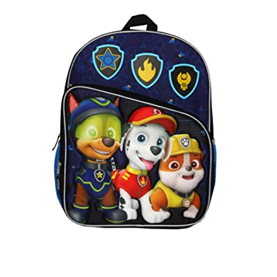 Paw Patrol Sky Patrol 16 inch Backpack with Sublimation Print & Quilting Details: Toys & Games