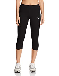 2d8d2b4bf01 adidas Women's Tech Fit Capri - Black/Matte Silver, X-Small: Amazon ...