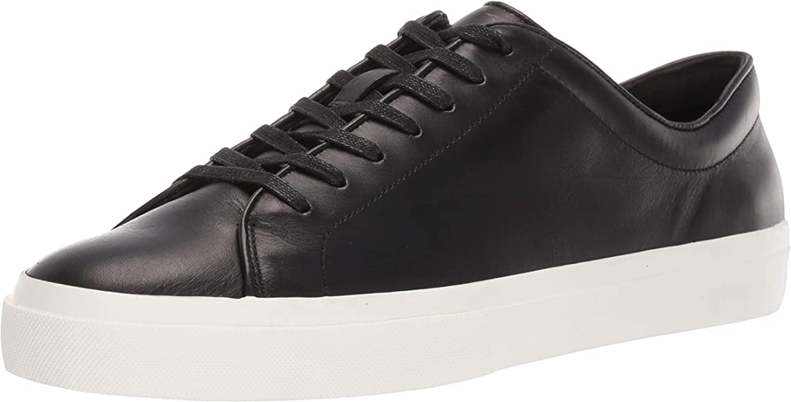 Amazon.com | Vince mens Sneaker, Black