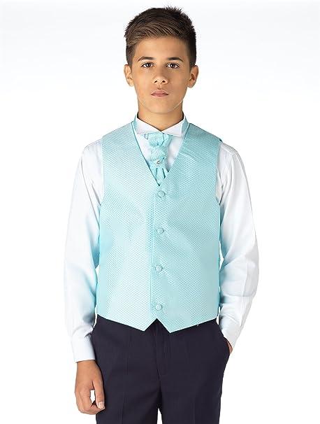 Traje azul marino para niño, ajustado, para bodas, de Paisley of ...