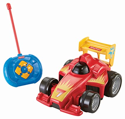 Amazon Com Fisher Price My Easy Rc Vehicle Toys Games