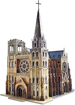 CLEVER PAPER- Puzzles 3D Catedral gótica (14255): Amazon.es: Juguetes y juegos