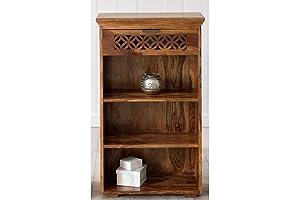 The Attic Ambient Bookshelf (Lacquered, Honey)