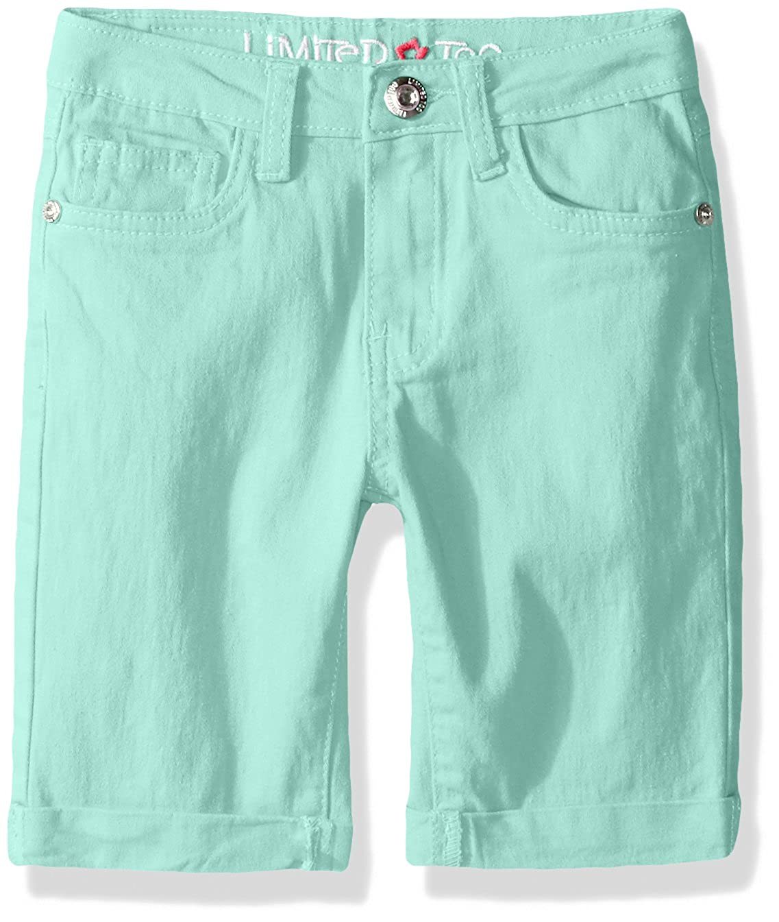 Limited Too Little Girls Stretch Twill Bermuda Short 2713 Neon Coral