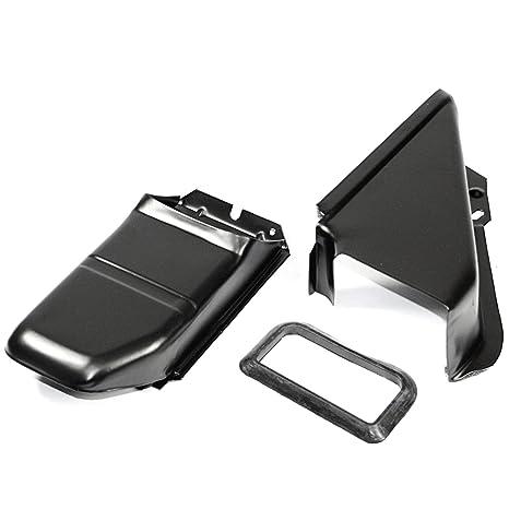 IAP Performance AC119123 Oil Cooler Tin Kit (Black Doghouse for VW Beetle)