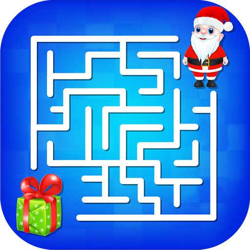 (Kids Maze : Educational Puzzle Christmas)