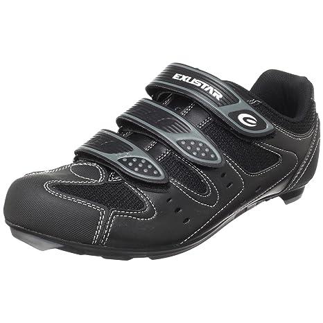 Exustar - Zapatillas de ciclismo para hombre blanco blanco, color blanco, talla 41