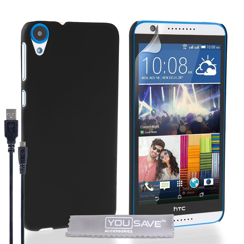 Yousave Accessories® HTC Desire 820 Carcasa híbrida rígida ...