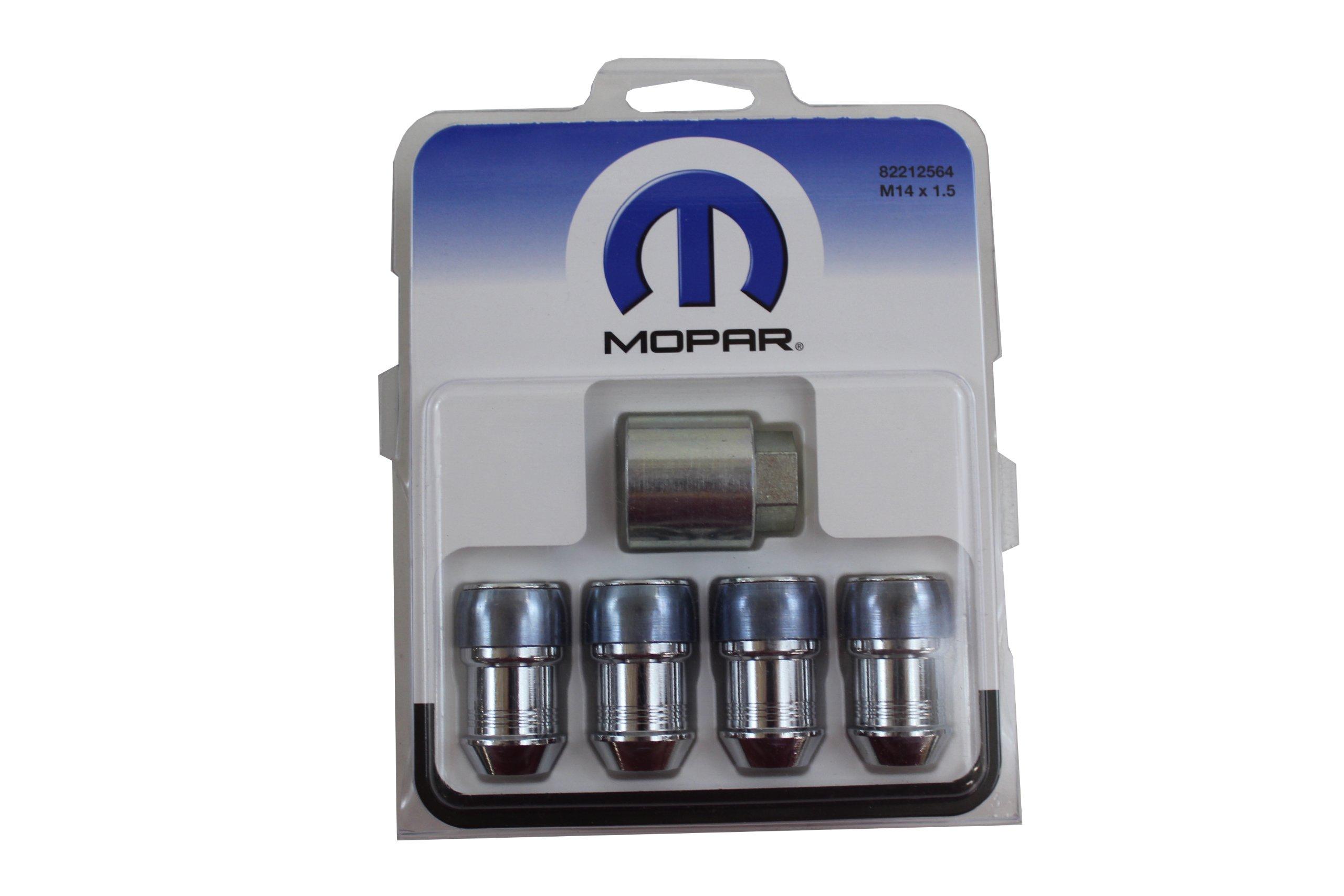 Chrysler Genuine Accessories 82212564 One-piece Wheel Lock Kit