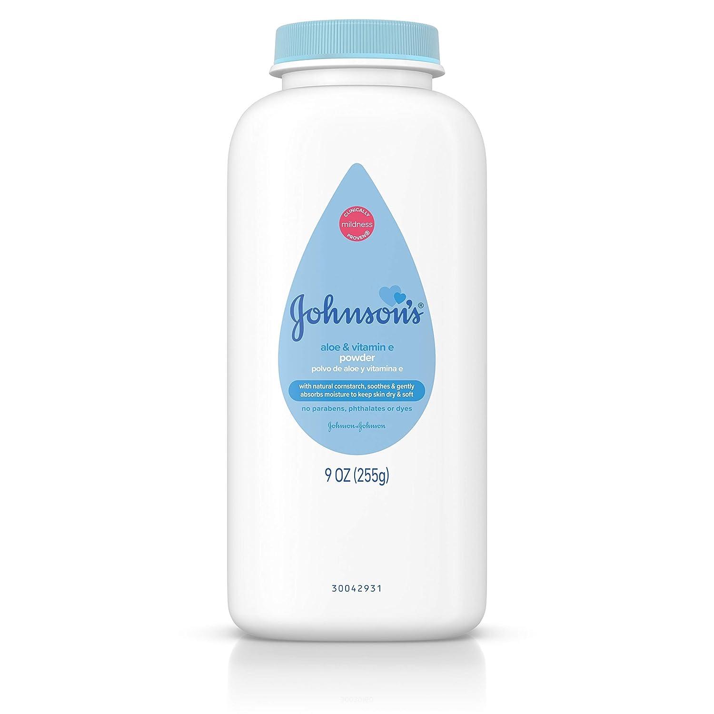 Johnson & Johnson Johnsons Pure cornstarch Baby Polvere JJ-051