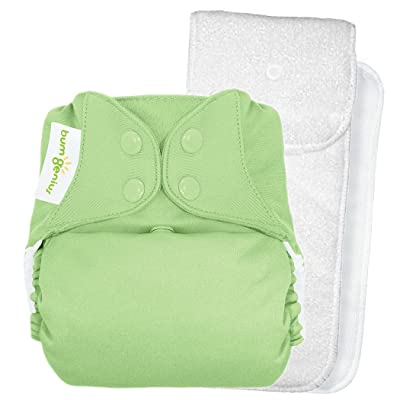 BumGenius 4.0 Pocket Cloth Diaper - Snap - Grasshopper - One Size