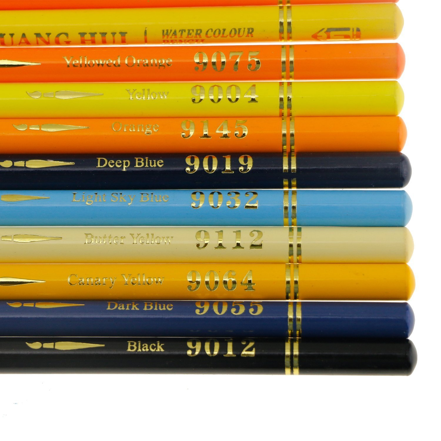 Set of 150 Watercolor Pencils with Unique Color Name, Water Soluble Art Pencils for Adult Coloring Book Sketching Painting