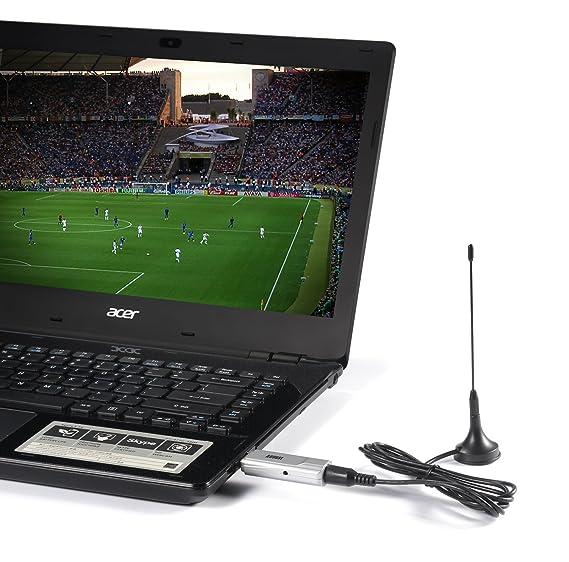 August DVB-T210 Sintonizador TDT HD(DVB-T2) de Televisión Digital en Alta Definición Grabador PVR Compatible con Windows 10 / 8 / 7 / Vista y XP: Amazon.es: ...