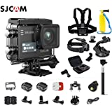 SJCAM SJ6 Kit {Including Extra Battery, 6-in-1 Accessories} SJ6 LEGEND Dual Screen 2″ LCD Touch Screen 2880×2160 Novatek NT96660 Panasonic MN34120PA CMOS 4K Ultra HD Sport DV Action Camera