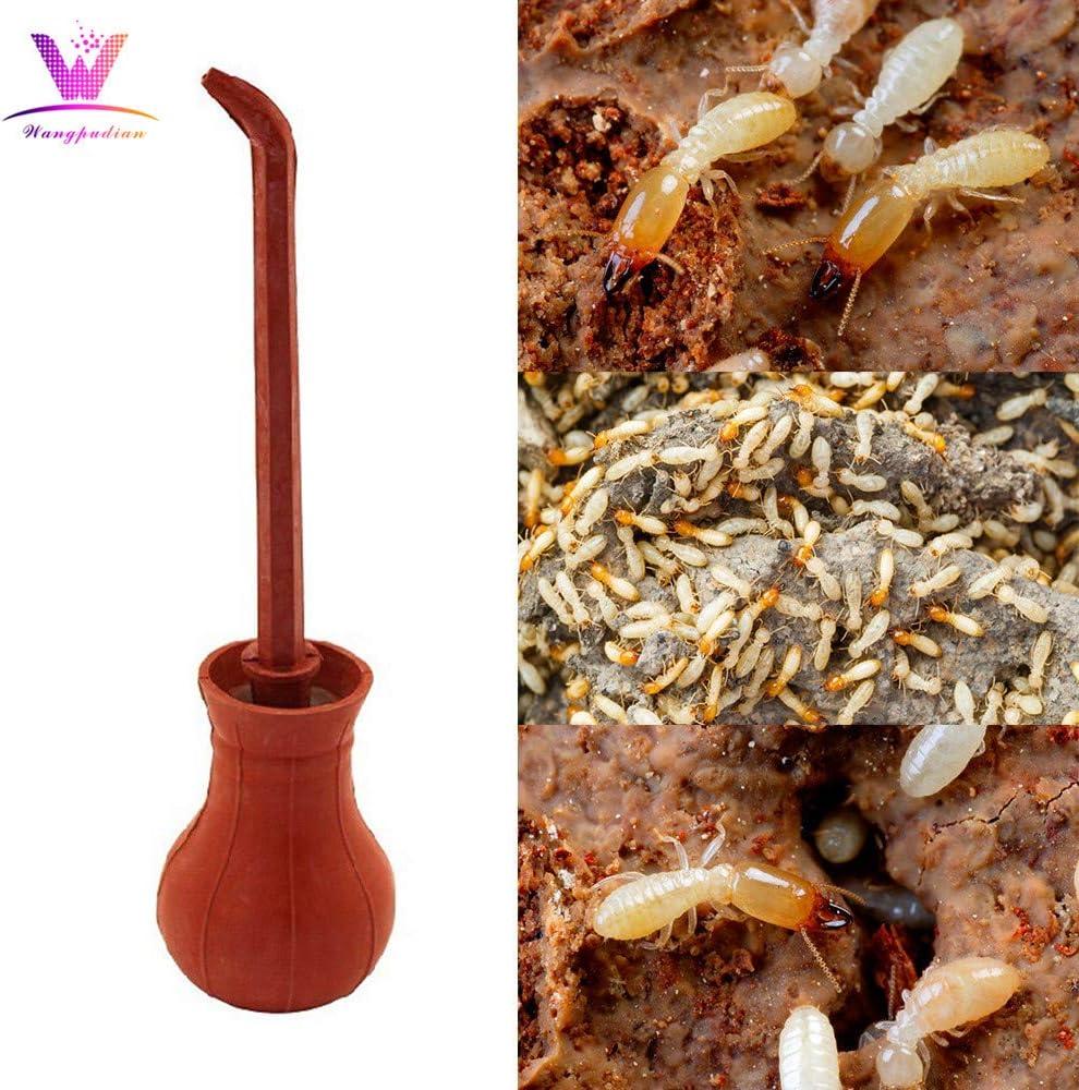Pulverizador de insecticida para bombilla – hecho a mano, aplicador extensible de 30 cm para plaguicidas, tierra diatomáctica y otras aplicaciones de polvo para el hogar – no tóxico, control de insectos