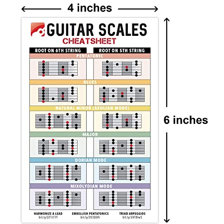 Chaleco para básculas de guitarra (10 x 15 cm) • Gráficos de ...