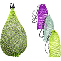 """Derby Originals Super Slow Feed Hay Net with 1"""" Holes (42"""", Lime Green)"""