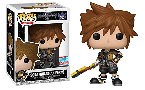 Funko Pop Sora, 9 cm. Kingdom Hearts 3. Disney Exclusivo